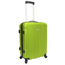 """Travelers Choice Rome 25"""" Green Hardside Hardcase Spinner Light Luggage Suitcase"""