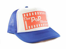 Vintage the Pop Shoppe Trucker Hat mesh hat snapback hat royal blue