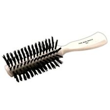 NEW Fuller Brush Pro Hair Care Fuller Bristle Half Round Curler Brush White