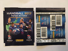 POCHETTE PANINI HANDBALL EQUIPE DE FRANCE 2017 PACKET TUTEN BUSTINA STICKERS