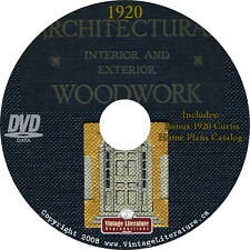 1920 Architectural Woodwork { Home Plans and Woodworking } Catalog on DVD