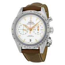 Omega Speedmaster Chronograph Silver Dial Automatic Mens Watch