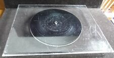 Rectangle Clear Acrylic Lucite Plastic Lazy Susan 15 Inches by 12 Inches