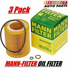 3 Pack OEM BMW Oil Filter Mann-Filter HU816x