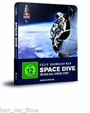 SPACE DIVE, The Red Bull Stratos Story (Felix Baumgartner) Blu-ray, Steelbook