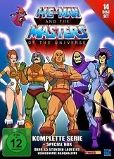 He-Man and the Masters of the Universe, Komplette Serie, 14 DVD Box, NEU & OVP