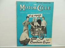 Jan 1958 The Motorcycle Magazine BSA Four Stroke Scooter Royal Enfield L8274