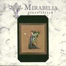 "SALE! COMPLETE X STITCH KIT ""AUGUST PERIDOT FAIRY""  MD 122 by Mirabilia"