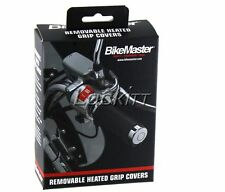 BikeMaster Removable Heated Grip Wraps for 7/8 and 1 inch bar grips