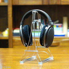 New Tower-shaped Headphone Display Stand Holder High Quality Clear PC Strong