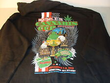 1ST HIGH TIMES U.S. SEATTLE OFFICIAL CANNABIS CUP SWEATSHIRT HOODIE SIZE S NEW