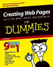 Creating Web Pages All-in-one Desk Reference for Dummies, Siddalingaiah, Madhu,