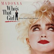 OST WHO'S THAT GIRL LP w/ Insert MADONNA Orig JAPAN ISSUE
