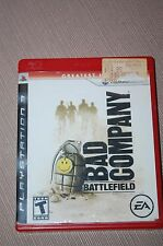 Battlefield: Bad Company (Sony PlayStation 3, 2008)