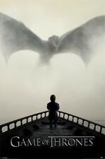 GAME OF THRONES SEASON 5 POSTER A Lion & A Dragon Print NEW LICENSED