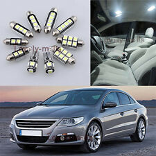 Error Free White Light Interior LED Package 13x for VW Passat CC 2009-2012 L8