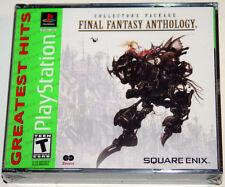 Final Fantasy Anthology - Playstation 1 PS1 PSX - NEW & SEALED
