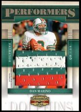 Dan Marino 2007 Donruss Gridiron Gear Performers 3-Color Jumbo Patch 5/15 Relic