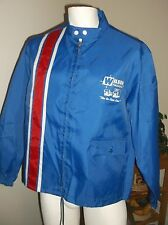 RARE VINTAGE WILSON FREIGHT TRUCKING JACKET NYLON SIZE L SWINGSTER MADE IN USA
