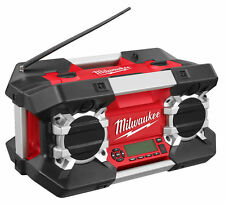 Milwaukee C12-28DCR 12V-28V & 240v Contractors AM/FM Site Radio - Body Only