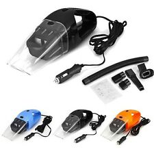 Portable 12V 120W Wet Dry Car Vehicle Mini Handheld Vacuum Dirt Dust Cleaner