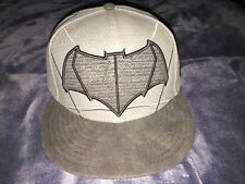 Batman V Superman Dawn of Justice Armor New Era 59/50 Hat RARE/ SOLD OUT - 7 3/8