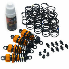 RC Car Alloy 50mm Shock Damper Suspension Set For Tamiya TT-01 TT01 E D R ORANGE