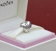 GENUINE AUTHENTIC PANDORA SILVER DISNEY CINDERELLA HEART CHARM 791593CFL