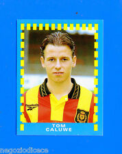 FOOTBALL 2000 BELGIO Panini-Figurina -Sticker n. 2 - TOM CALUWE -New
