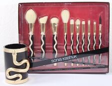 Sonia Kashuk Serpent 10pc. Brush Set Limited Edition Brush Cup Included Target