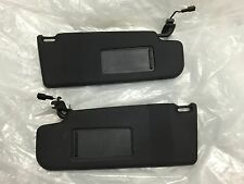 VW GOLF GTI MK5 SUNVISORS PAIR BLACK