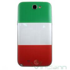 Cover copri batteria bandiera italiana Samsung Galaxy Note 2 N7100 copribatteria