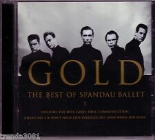 SPANDAU BALLET Gold CD Classic 80s New Wave Capital Records Anthology Greatest