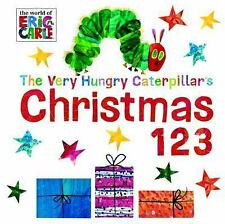 The Very Hungry Caterpillar's Christmas 123 by Eric Carle (2015, Board Book)