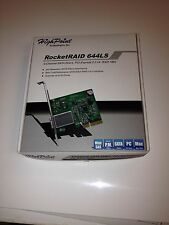 HighPoint - RocketRAID 644LS ~ 4-channel SATA 6 Gb/s RAID - Excellent condition