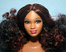 SULTRY Highlighted AA Brunette NUDE Ethnic Belly Button BARBIE for OOAK