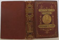 JULES VERNE Twenty Thousand Leagues Under the Sea FIRST EDITION 1873