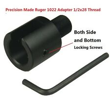 """Ruger 1022 10/22 Muzzle Adapter With 1/2""""x28 Thread Life Time Guarantee"""