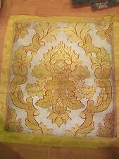 tissu 19e fil or argent garniture siege d apparat ameublement jacquard lyon D