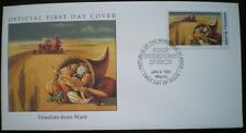 COVER 1945 MARSHALL ISLAND WWII FREEDOM FROM WANT