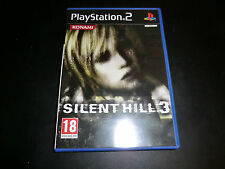 SILENT HILL 3  SONY PLAYSTATION 2  PS2 NEW