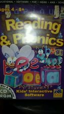 Reading & Phonics Ages 4-8 PC GAME