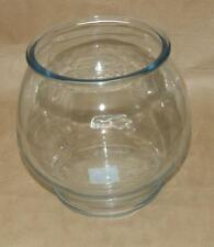 Anchor Hocking 1 Gallon Bubble Glass Bowl Aquarium Fish Terrarium Centerpiece 8""