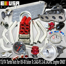 T3/T4 Turbo Kit for 08-11 Scion xB Base Wagon 5D 2AZ-FD I4 2.4L DOHC ENGINE ONLY