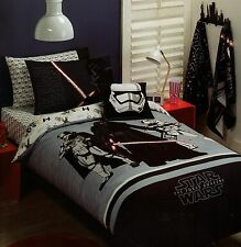 STAR WARS THE FORCE AWAKEN DOUBLE QUILT COVER SET NEW