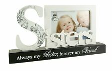 Sister Photo Frame Gift With Plaque New Boxed FW437SIS