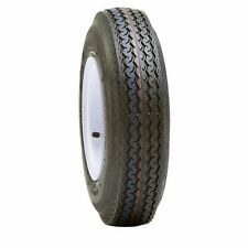 UTILITY BOAT TRAILER TIRE & WHEEL ASSEMBLY 15x5. 5-4.5 WHITE SPOKE ST205/75D15