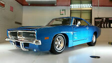 G LGB 1:24 Scala Dodge Charger R/T 1969 Maisto Automodello Metallo 31256