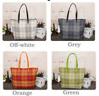 Canvas Single-Shoulder Shopping Tote Bag With Rope Handle National Flag SH1 B#