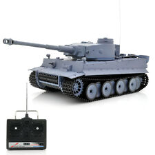 1/16 Airsoft RC Tank Tiger 1 Movable Barrel, Rotating Turret, Full Suspension